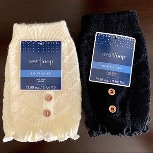 West Loop Boot Cuffs, two Pairs NWT